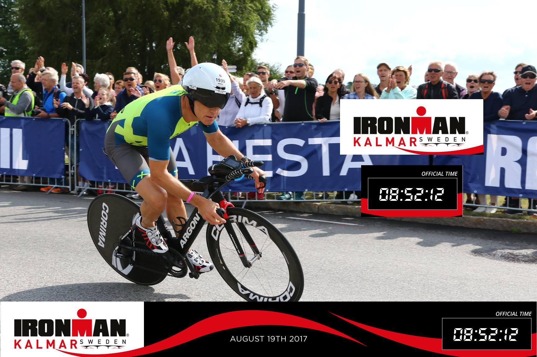Carl Brummer Ironmanstatistik